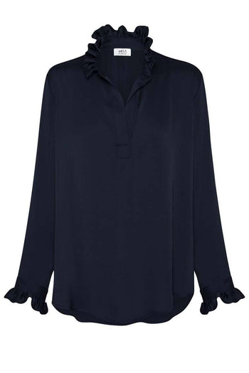Valentine Blouse in French Navy