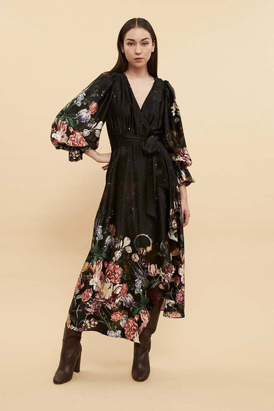 Venus Wrap Dress Dresses Ginger & Smart