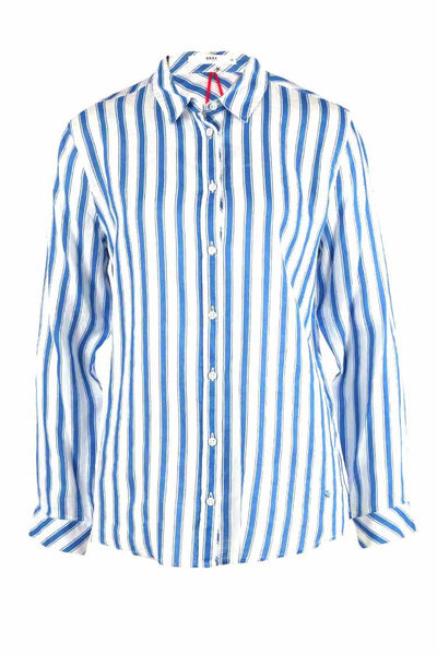 Victoria Shirt in Blue Stripe Tops Brax