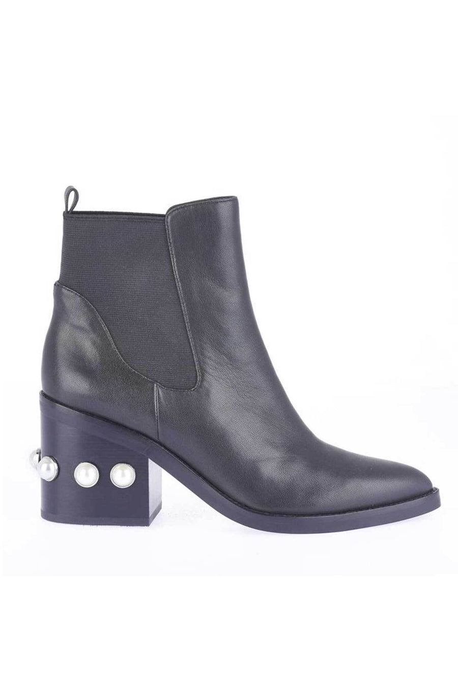 Shop Online Victoria Boot in Black Pearl by Sol Sana  Frockaholics Shoes