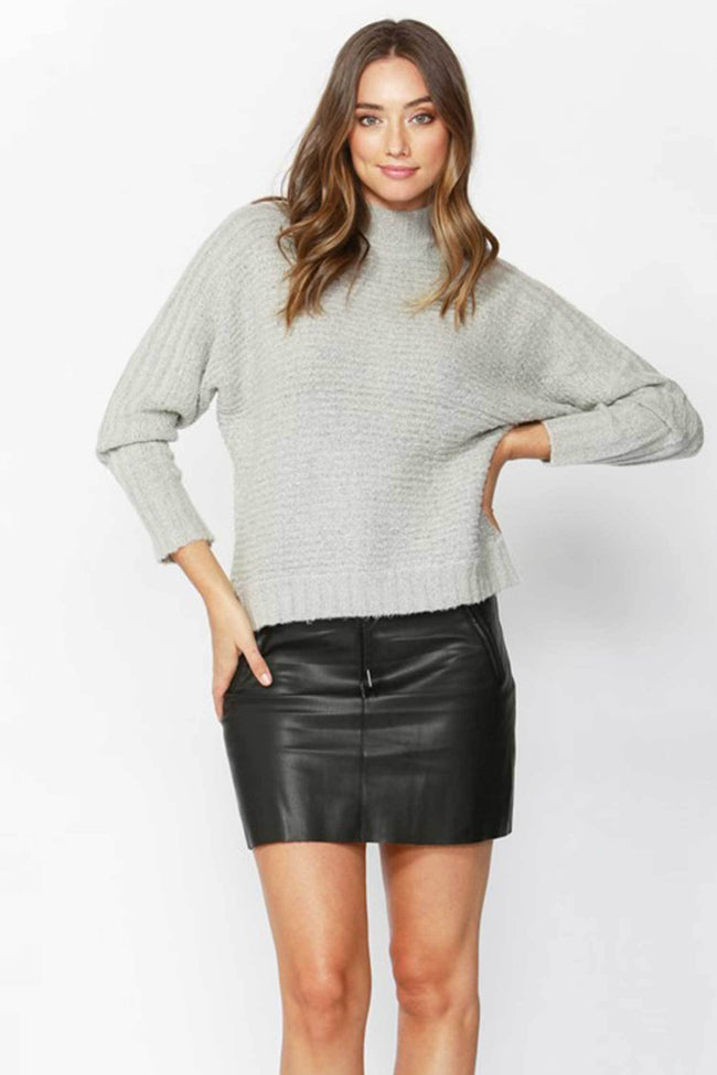 Shop Online Sunday Morning Jumper in Grey Marle by Sass  Frockaholics Tops