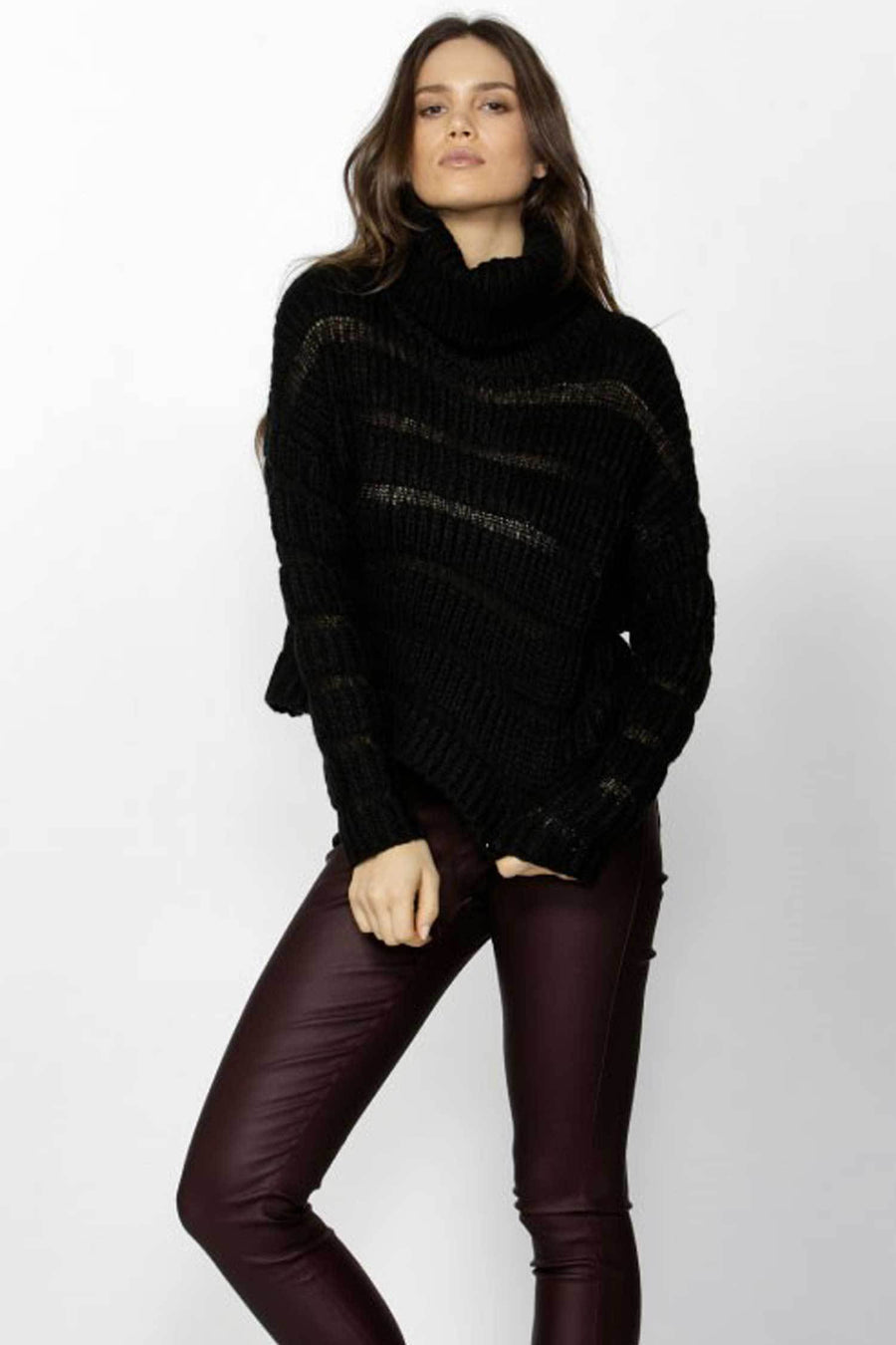 Shop Online Madelene Rolled Neck Knit by Fate + Becker  Frockaholics Tops