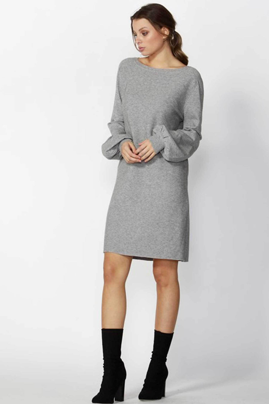 Shop Online So Cosy Balloon Sleeve Dress by Fate + Becker  Frockaholics Dresses