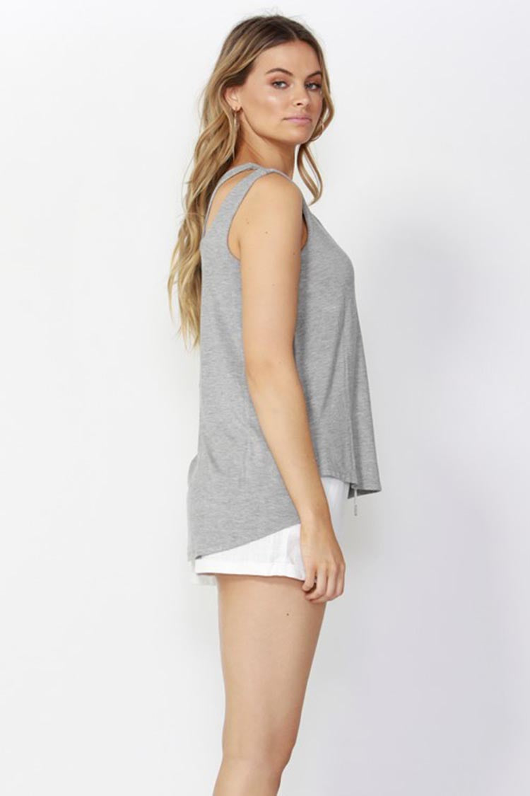 Break Free Split Shoulder Tank