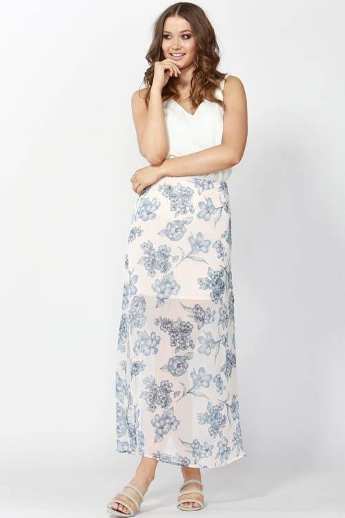 Flemington Floral Maxi Skirt