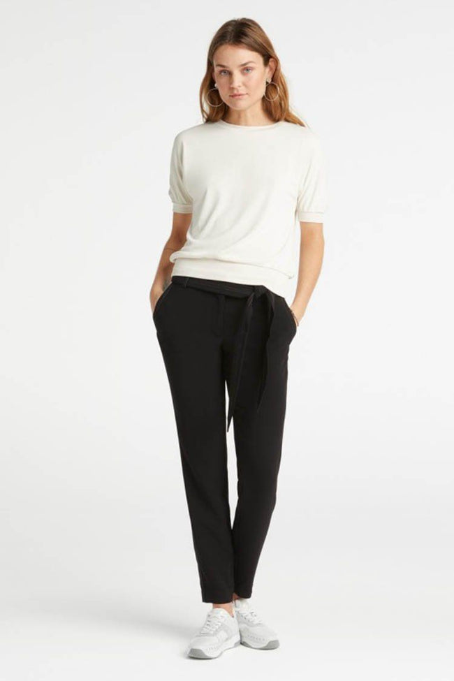 Loose Fitted Trousers in Black