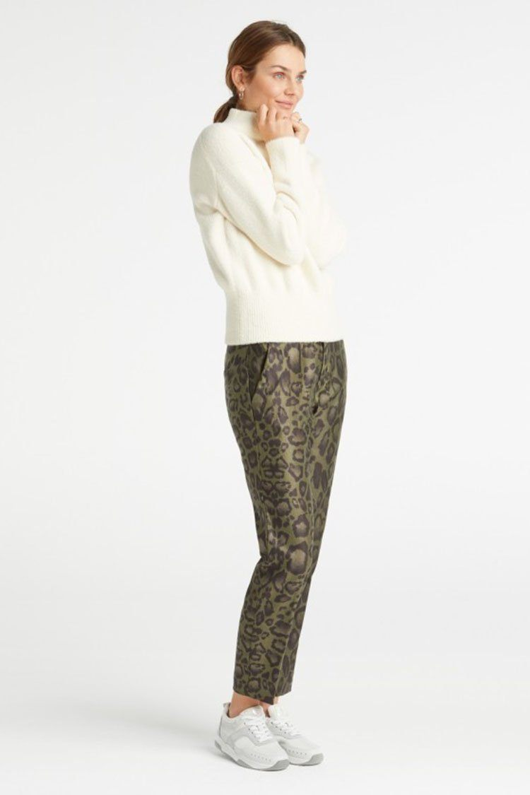 Printed Leopard Stretch Pant