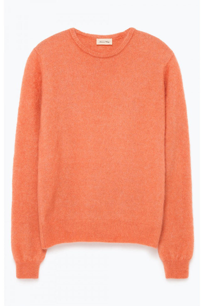 Zabidoo Round Neck Jumper in Blush Melange