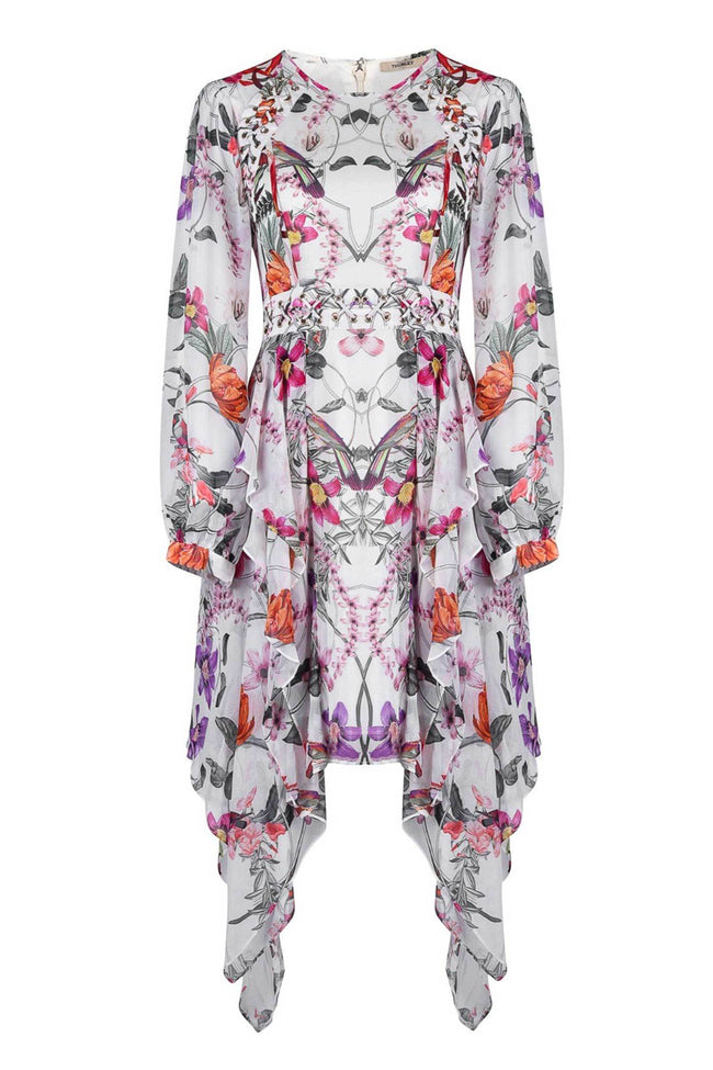 Shop Online Poppy Print Layered Dress by Thurley  Frockaholics Dresses