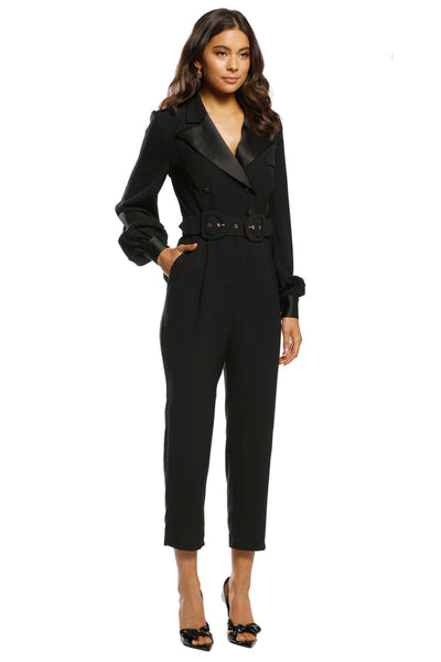 Austere Pantsuit in Black Jumpsuit / Playsuit Pasduchas