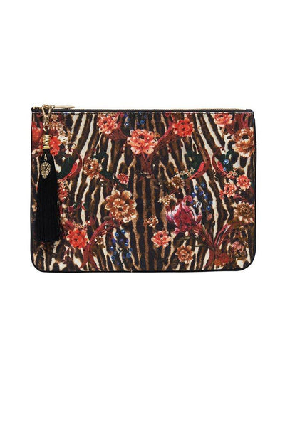Small Canvas Clutch in Liv A Little Accessories Camilla