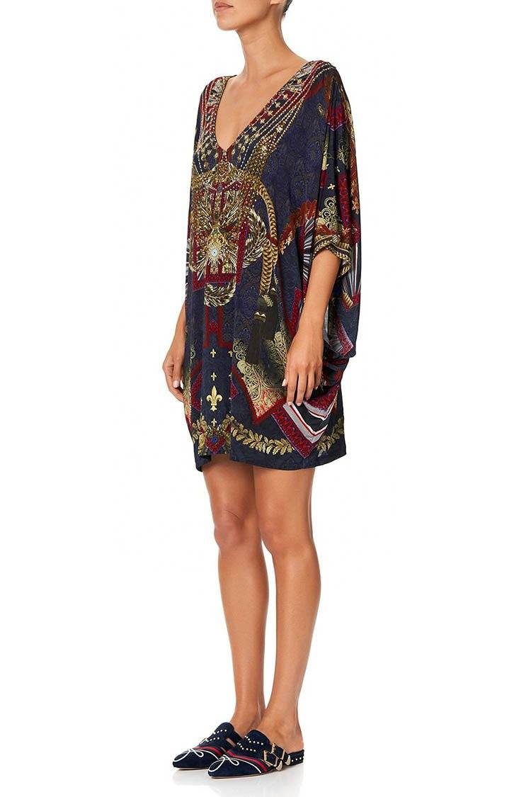 Bat Sleeve Dress in This Charming Woman