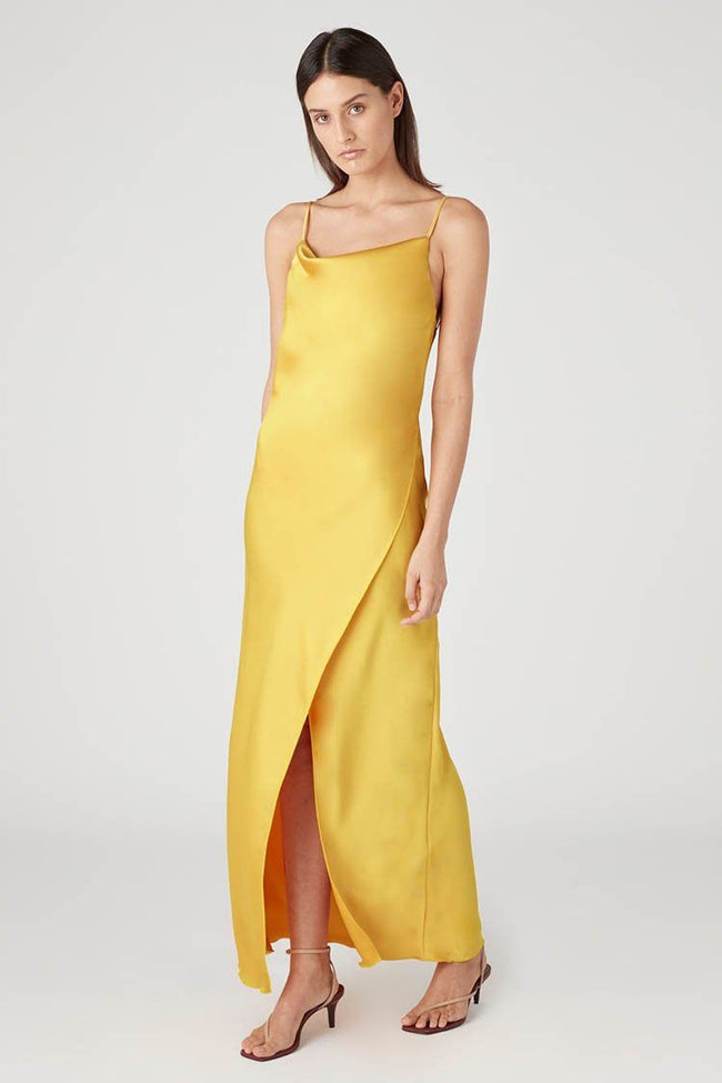 Aubrey Slip Dress in Sunburst