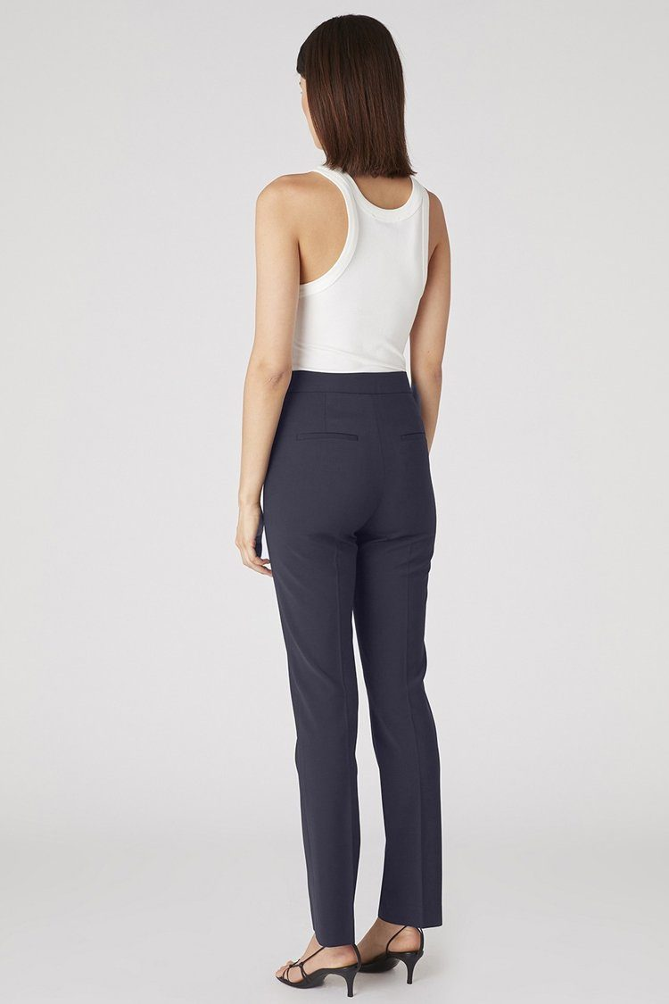 Balley Cigarette Pant in Navy