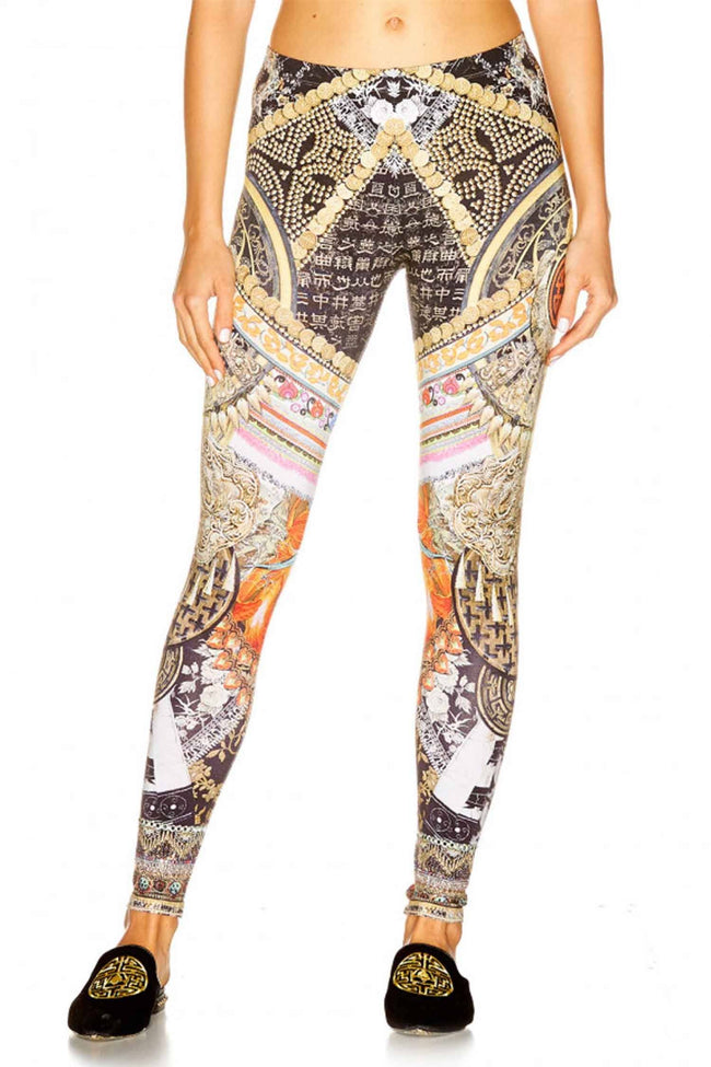 Leggings in Dinasty Days by Camilla Frockaholics.com