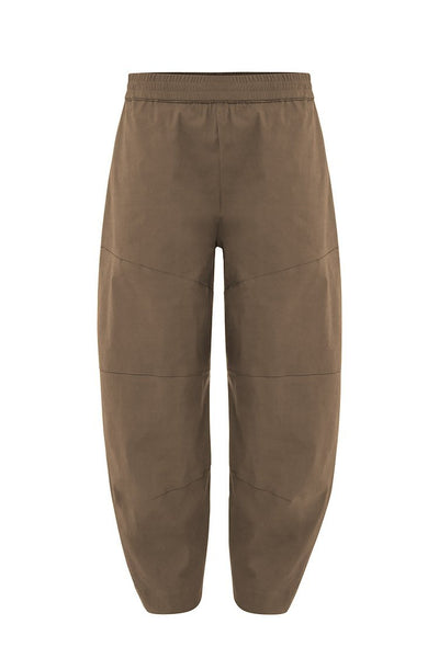 Cropped Tuscan Pant in Curry Bottoms Mela Purdie