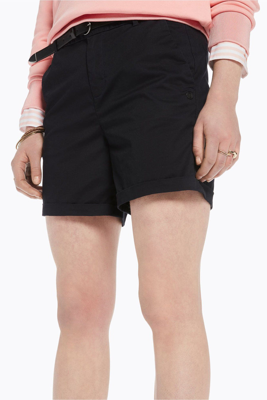 Longer Length Medium Weight Shorts in Night | FINAL SALE