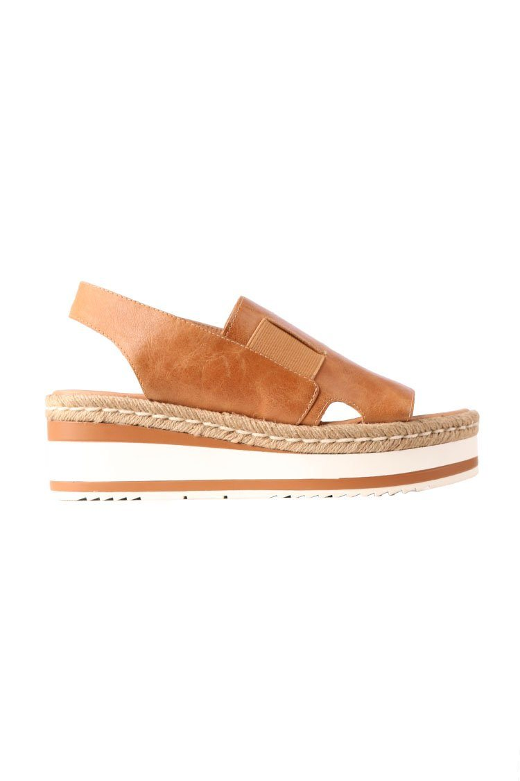 Panto Sandals in Tan | FINAL SALE