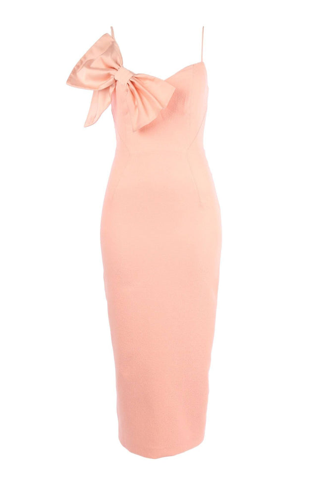 Zoey Midi Dress in Apricot