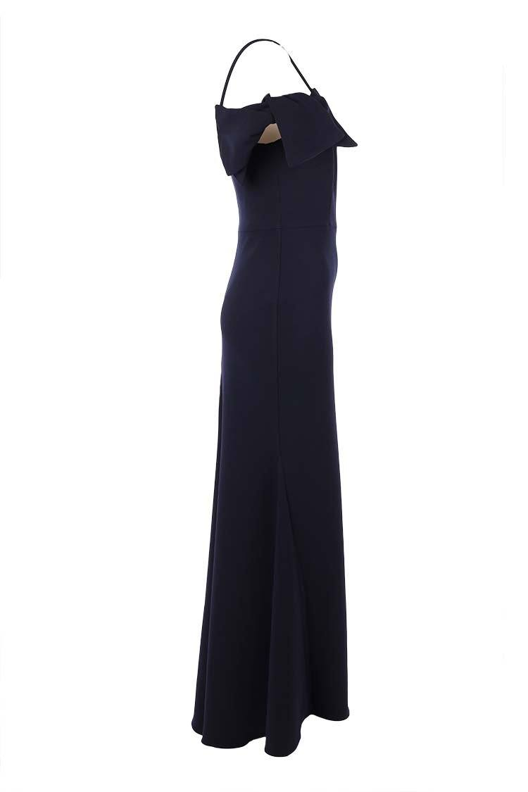 Haley Gown in Navy
