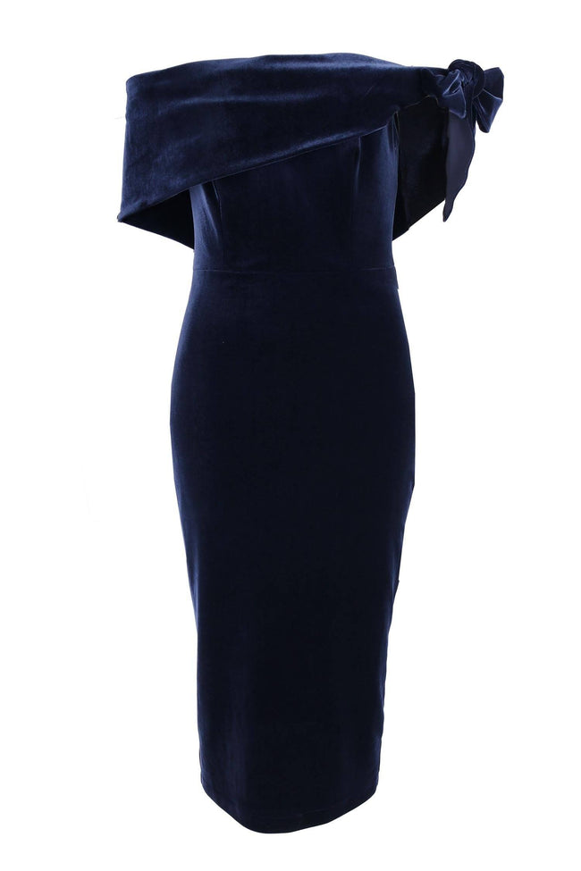 Harper Velvet in Navy
