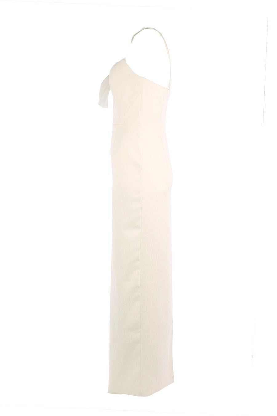Zoey Long Dress in Ivory