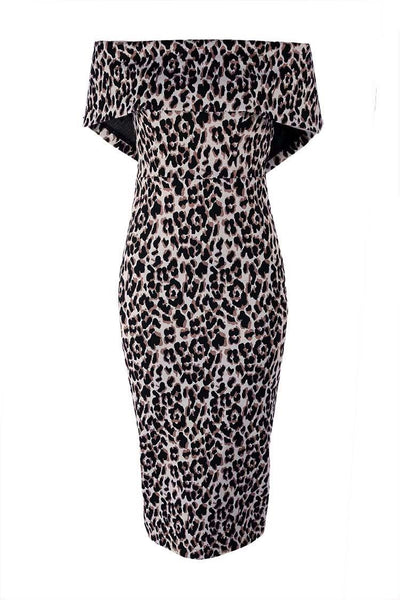 Celeste Midi in Animal Dresses Eileen Kirby