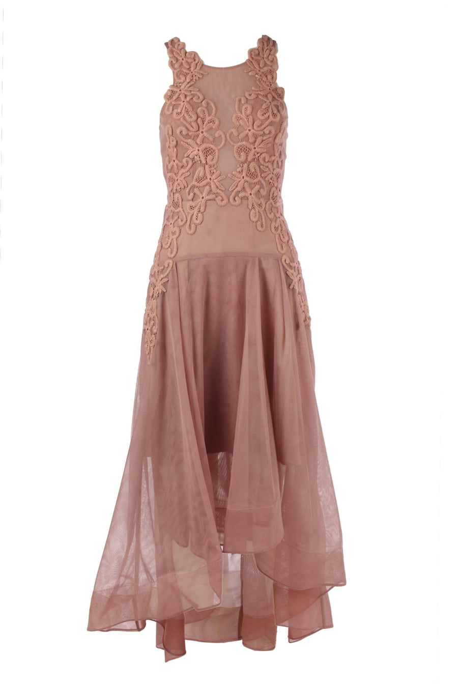 Paris Dress in Dusty Pink