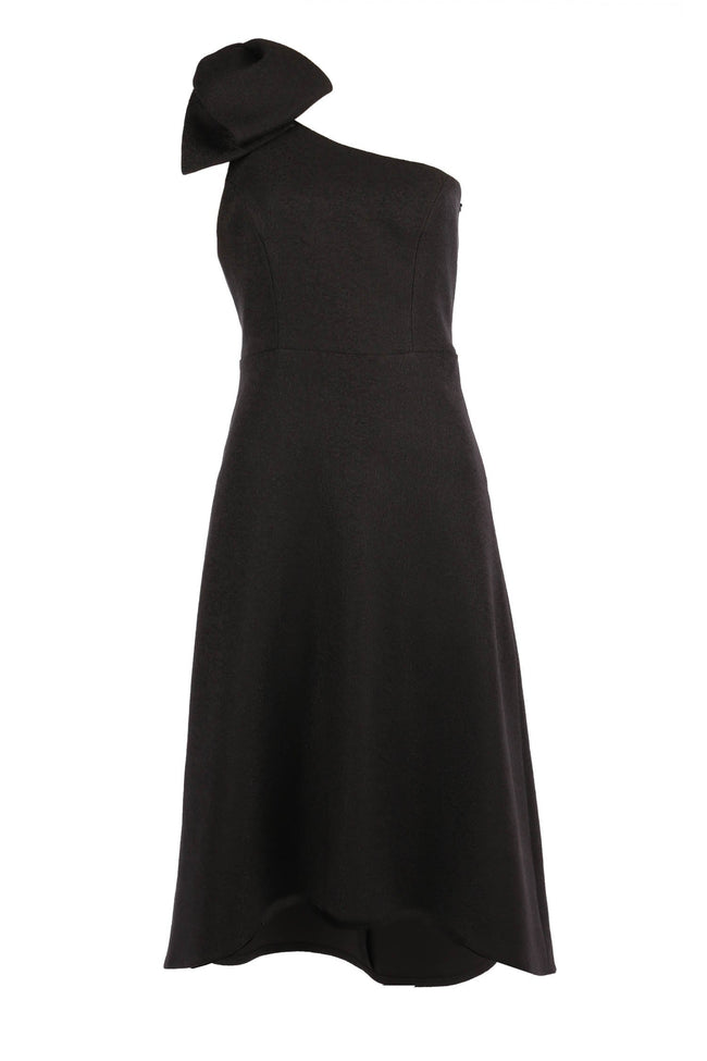 Charm Midi Dress in Black