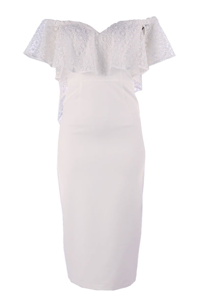 Bliss Dress in Ivory Dresses Eileen Kirby