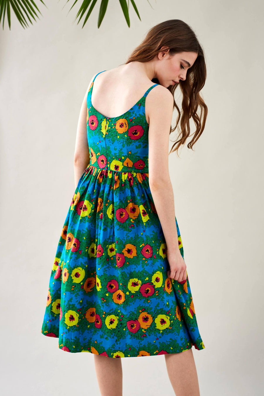 Enid Dress in Blazing Blooms Dress