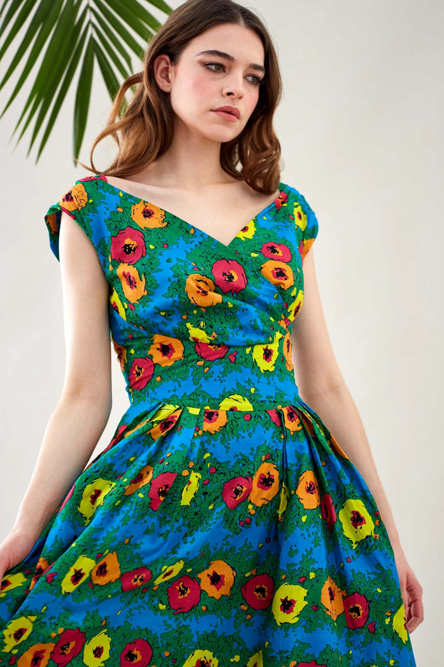 Florence Dress in Blazing Blooms | FINAL SALE
