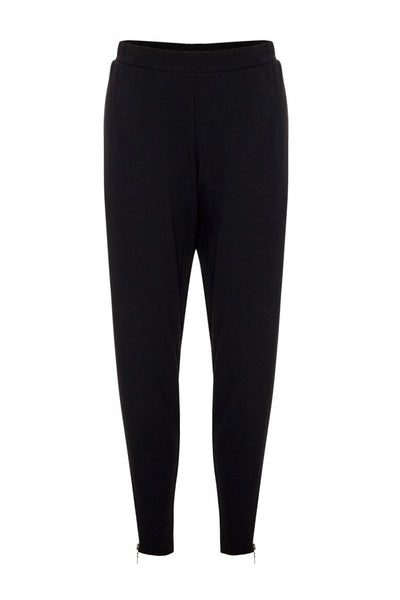 Zip Stiletto Pant in Black Bottoms Mela Purdie