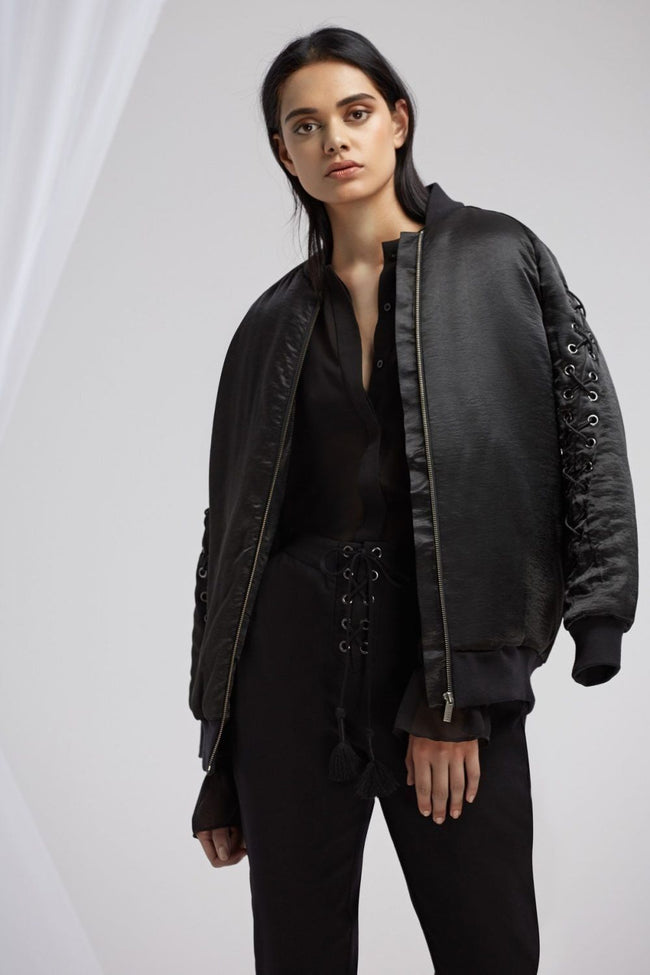 Arlo Bomber Jacket | FINAL SALE by Finders Frockaholics.com
