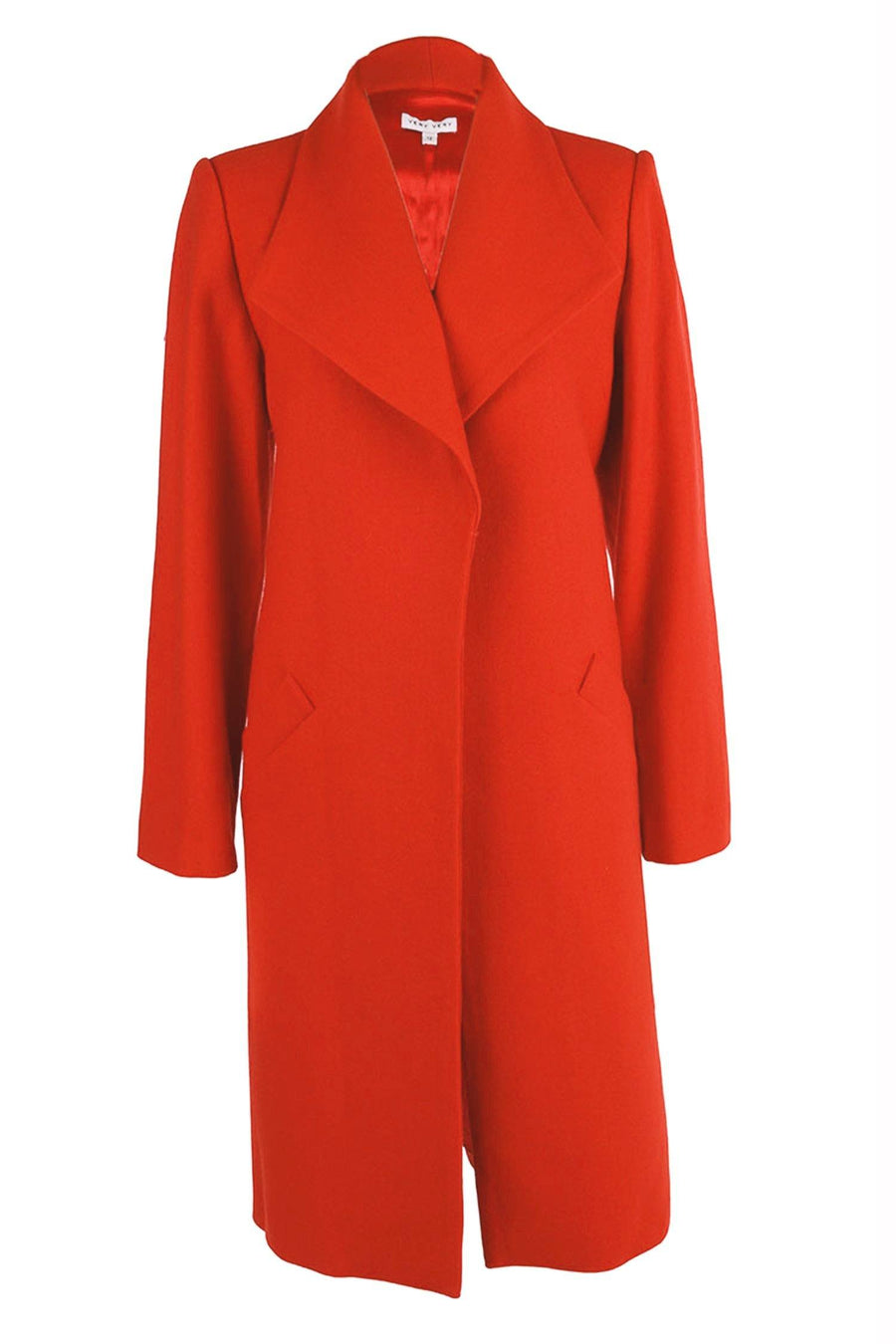 Curtis Coat in Orange