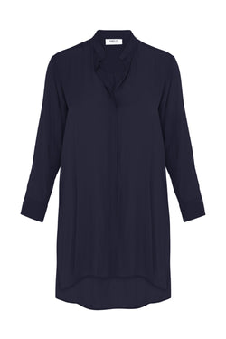Split Duster in French Navy