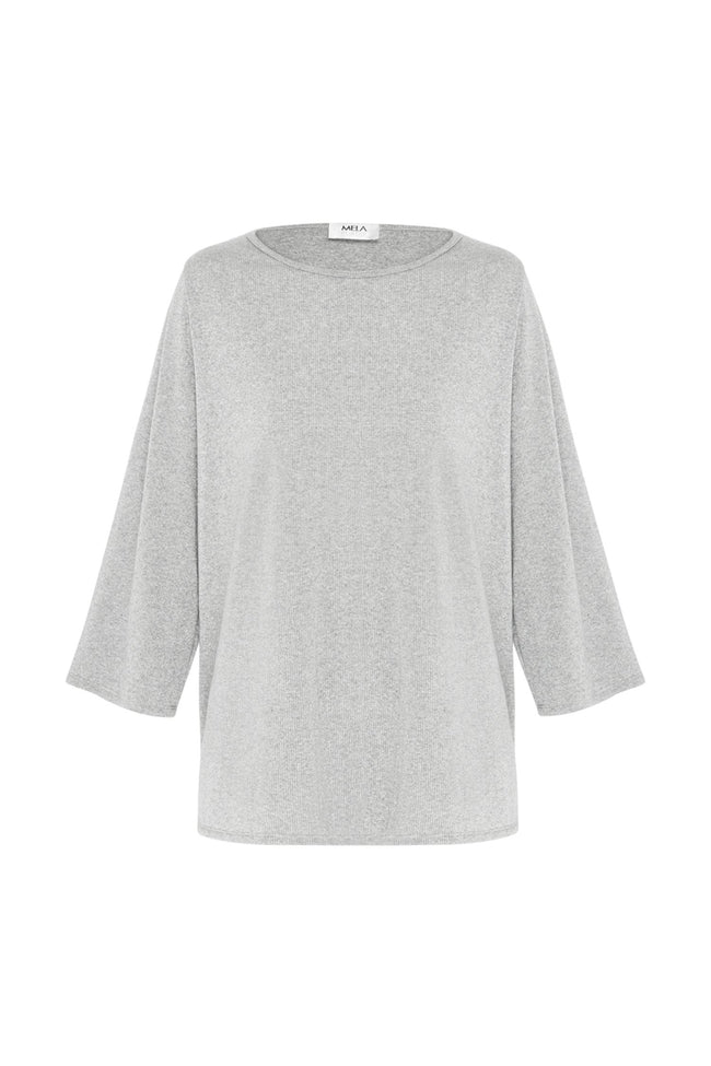 Spa Top in Platinum Marl