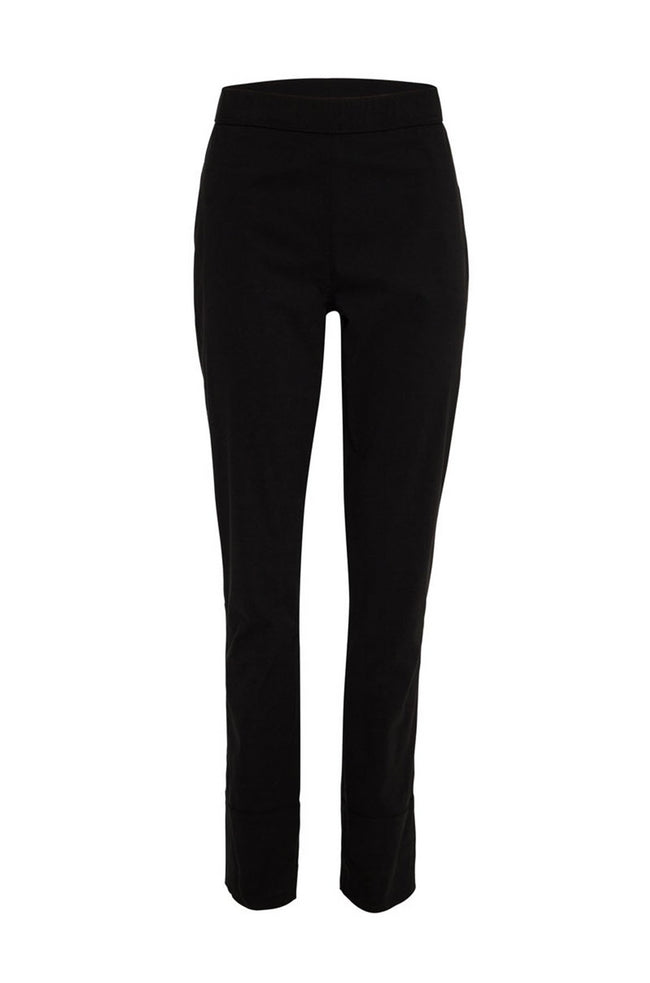 Stove Pipe Pant in Black