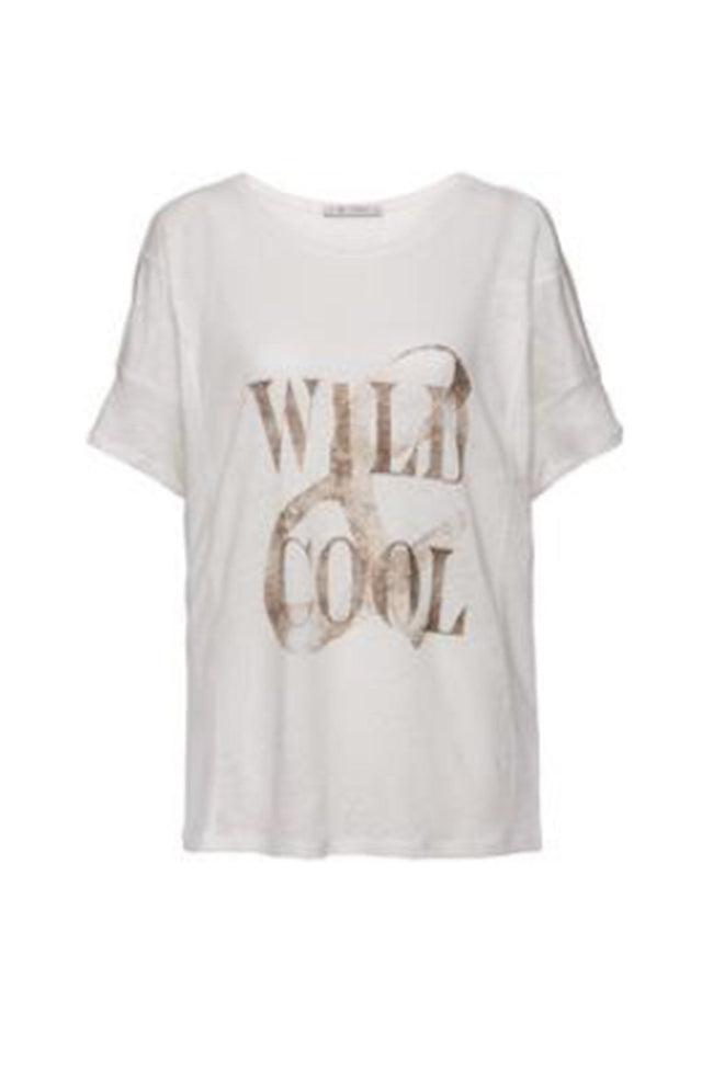 T-Shirt Wild & Cool in Off White