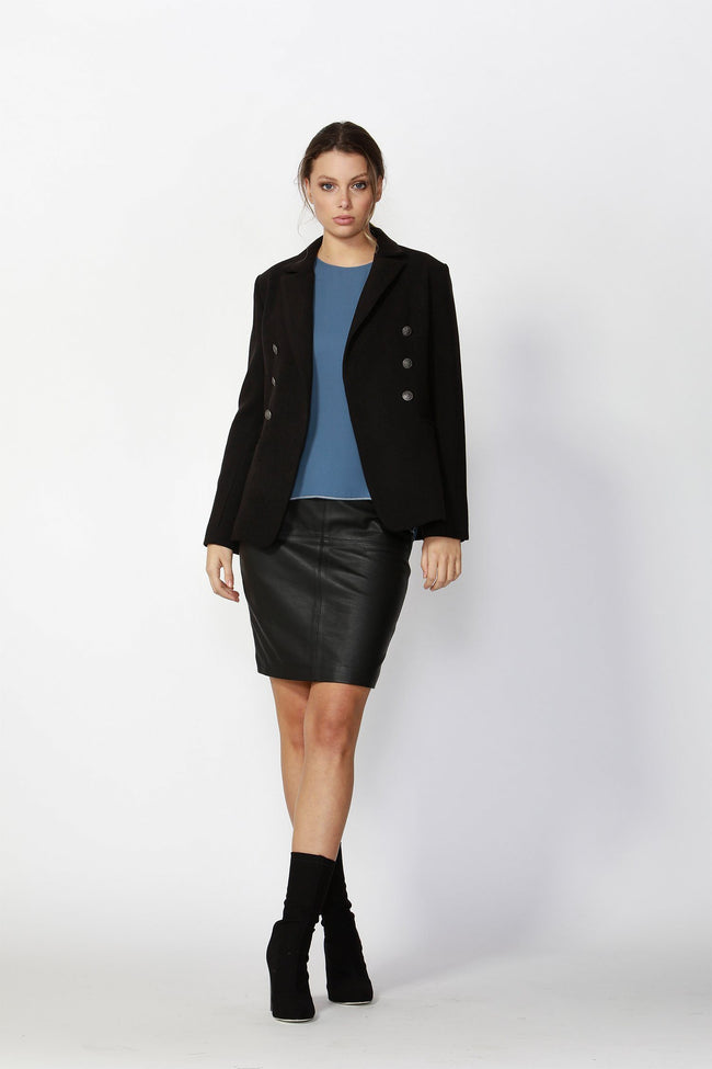 Eva Blazer in Black