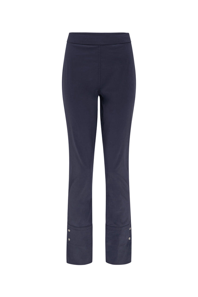 Stud Cuff Pant in French Navy