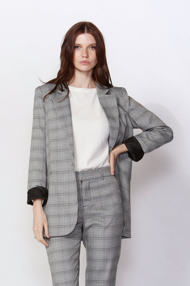 Eagle Rock Plaid Blazer