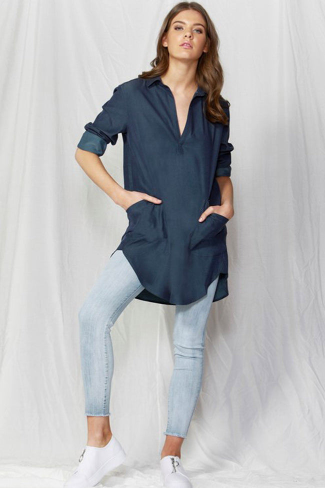 Lindsay Oversized Shirt Dress