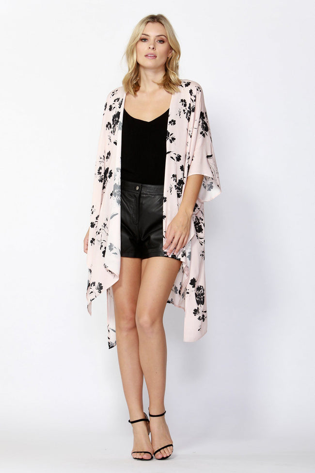 Dream Big Kimono in Blush