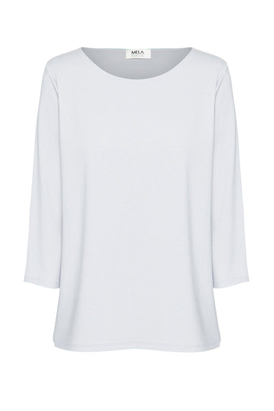 Relaxed Boat Neck Tops Mela Purdie