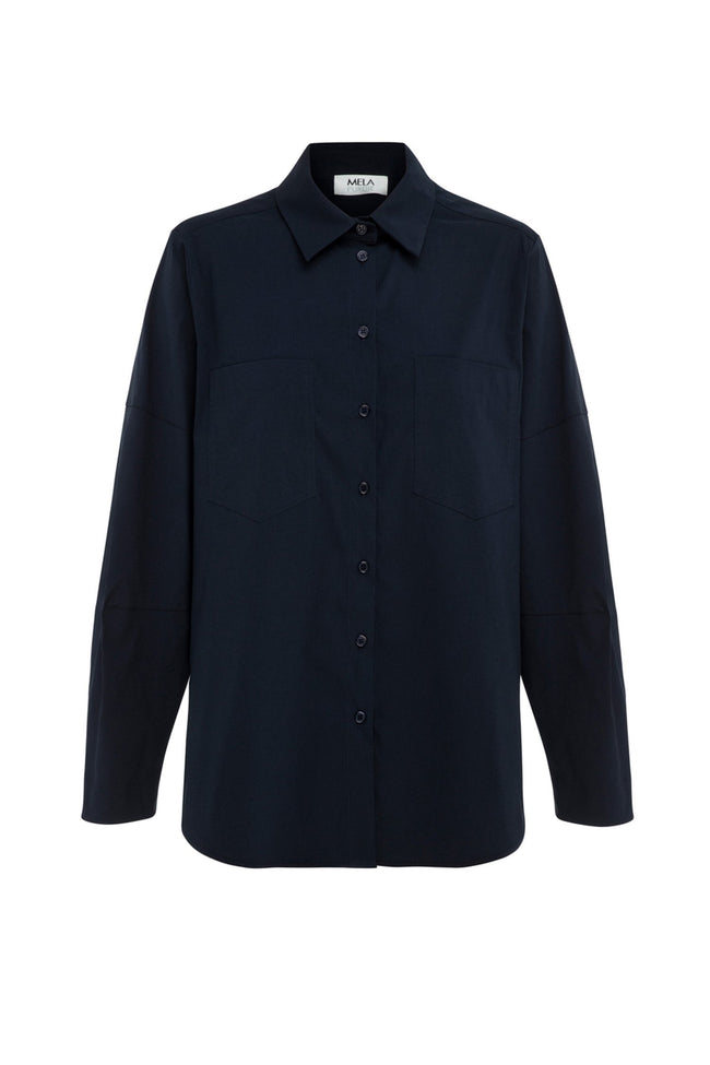 Tuscan Shirt in French Navy