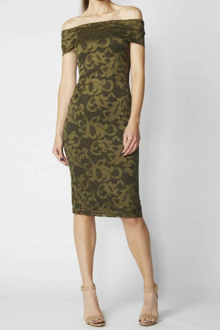 Hari NCL Dress in Khaki