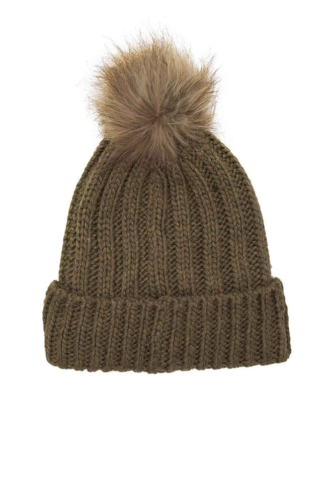colourful-beanie-with-faux-fur-in-army-by-maison-scotch