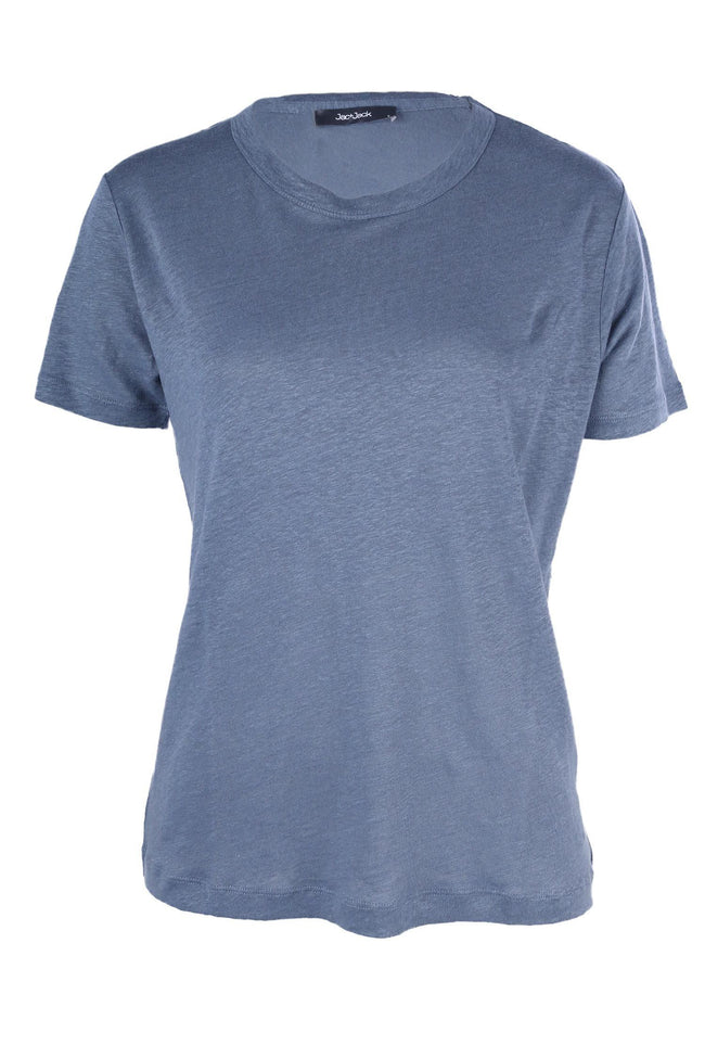 Columbia Tee in Tzar Blue by Jac + Jack Frockaholics.com