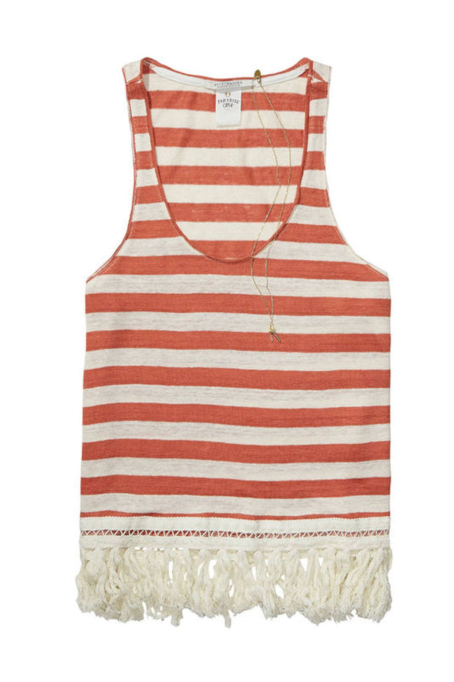 Fringed Tank Top  | FINAL SALE by Maison Scotch Frockaholics.com